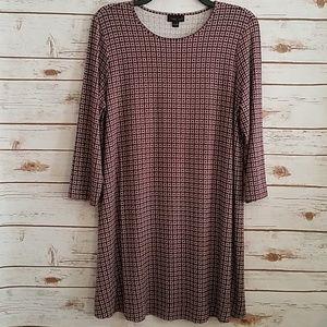 EUC🌻J Jill Wearever Collection Swing Dress